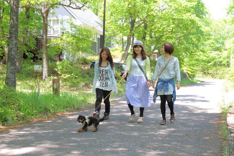 ドッグフレンドリーな街・那須にある「ヴィラージュ那須高原」で小旅行気分を味わおう♪