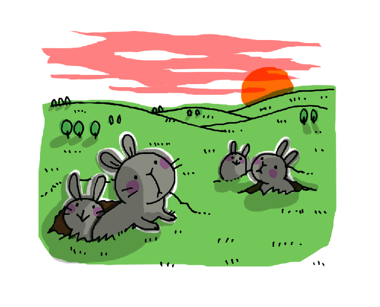 ウサギの性格とつき合い方