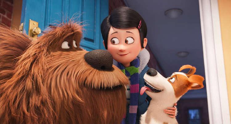 映画『ペット』公開記念! 表参道ヒルズが有名ペットたちのポスターギャラリーに♪