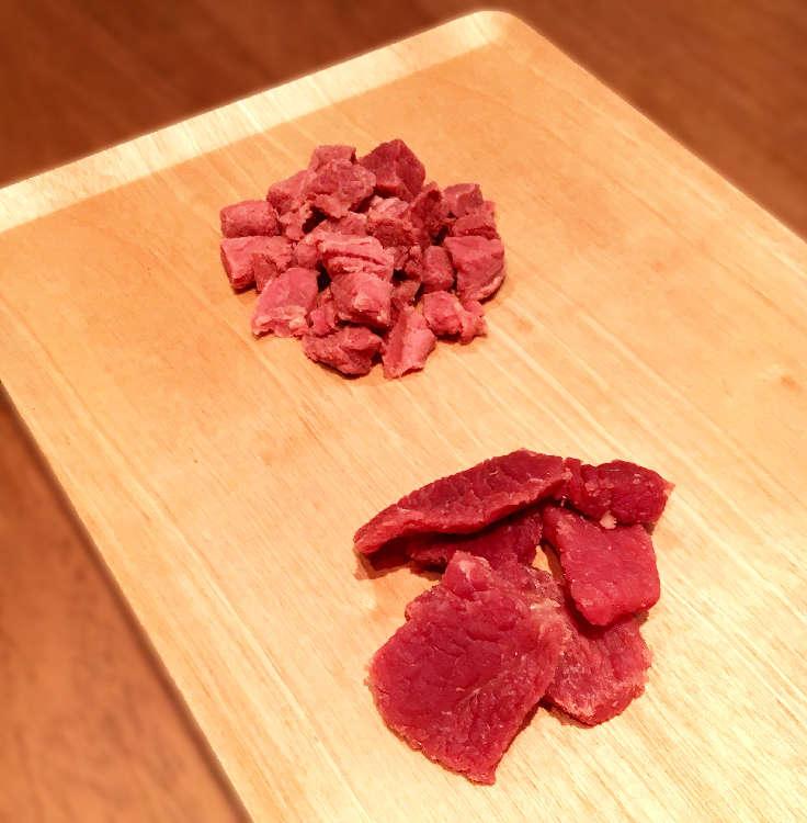 こんなに美味しそうなお肉が入ってました!