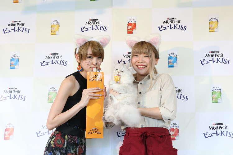 猫ちゃんにも「スイーツ」を♡ 「モンプチ ピューレKISS」と猫カフェ「MoCHA」がコラボ♪
