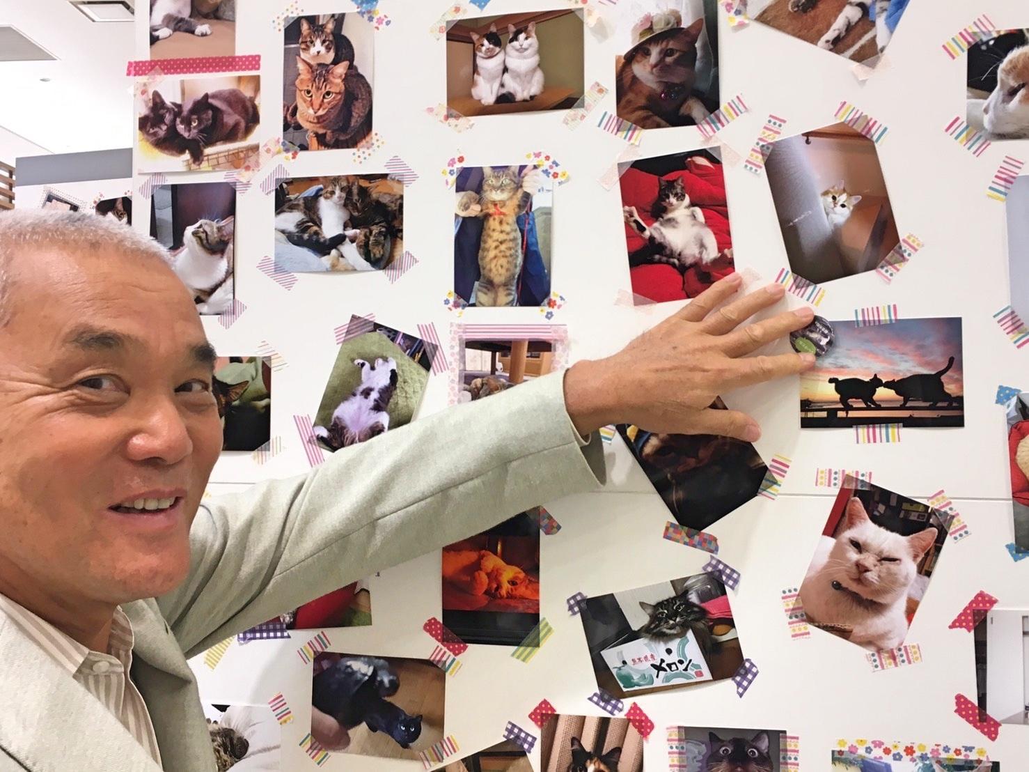 「PECO NEKO館」に岩合さんがご来館! 福岡三越全館「ねこ・猫・ネコづくし」絶賛開催中♪