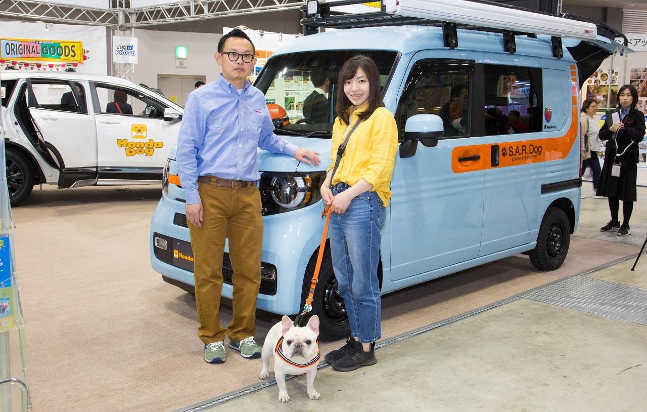 災害救助犬ボランティアをサポートするホンダアクセス『S.A.R.Dog Concept』開発秘話