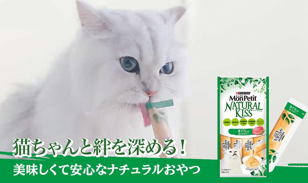 ネコちゃんとの絆をさらに深めてくれる、美味しくて安心できるナチュラルおやつ