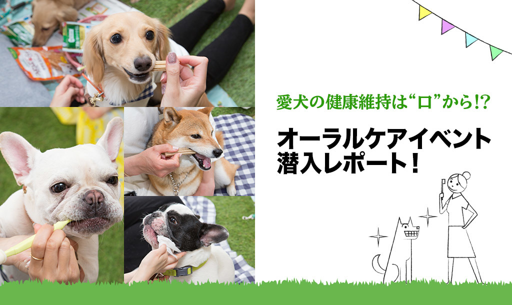 """愛犬の健康維持は""""口""""から⁉ 「ライオン商事オーラルケアイベント」開催!"""