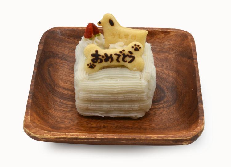 愛犬用バースデーケーキで忘れられない誕生日を