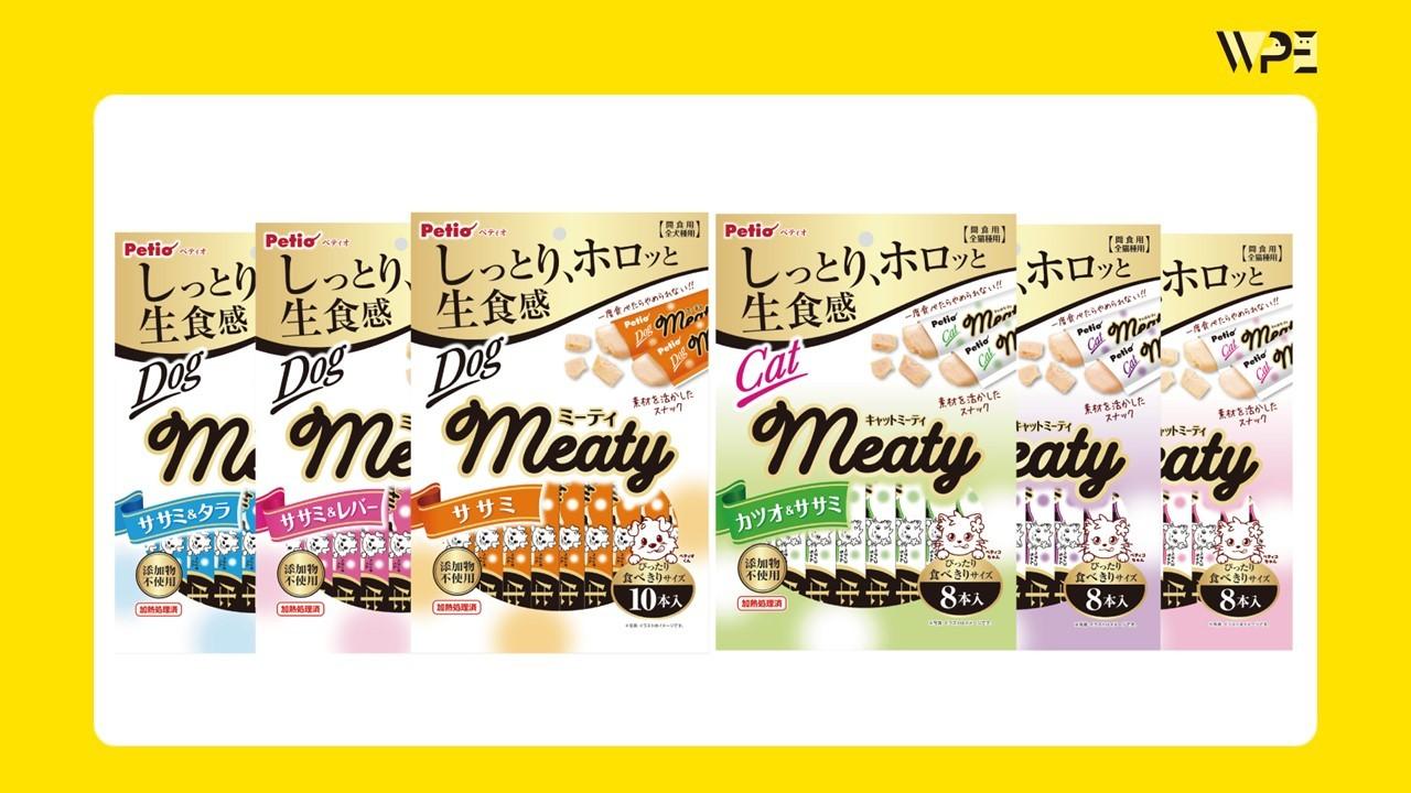 しっとり、ホロッと生食感のおやつ 『Meaty(ミーティ)』 デビュー
