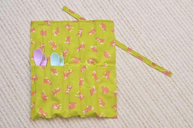 こちらも四角に切った布を縫い合わせるだけなので簡単!