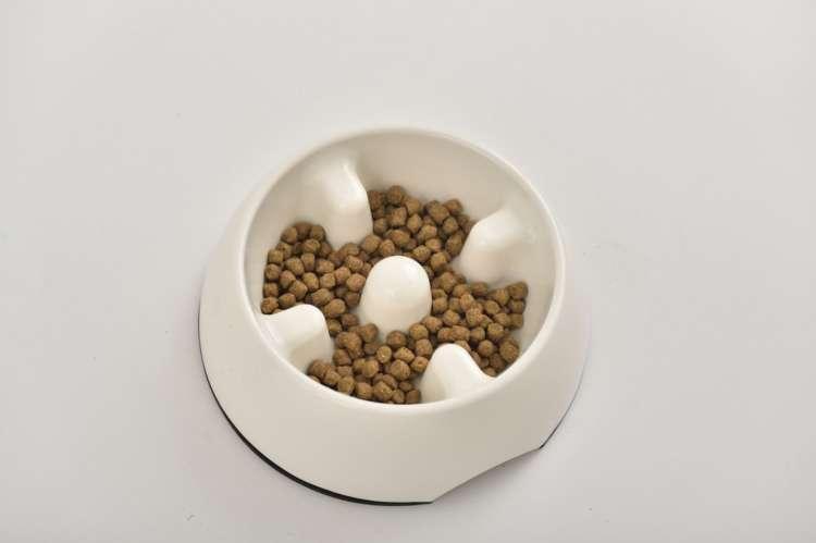 ■早食い防止の食器を使う