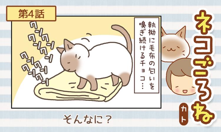 【まんが】第4話:【そんなに?】まんが描き下ろし連載♪ ネコごろね(著者:カト)