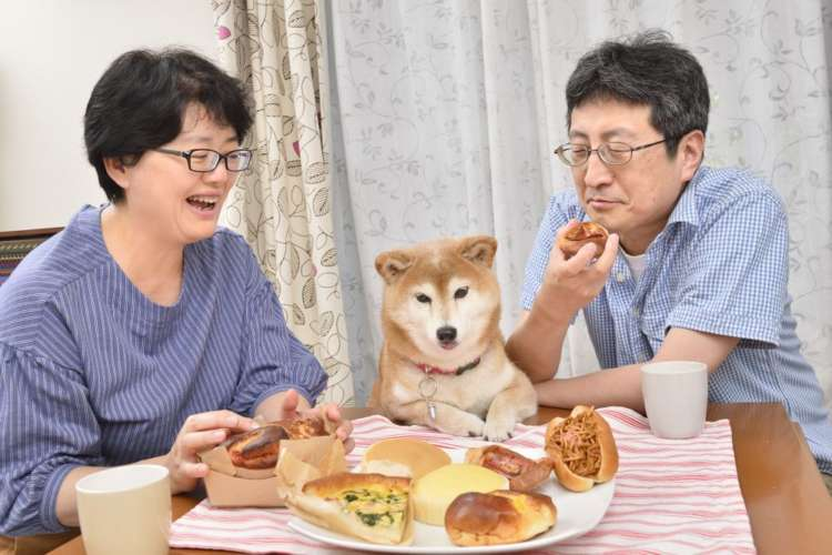 食事時やリビングでみんなでくつろいでいる時にも、愛犬が同じ部屋にいたり、人に寄っかかってテレビを見ているなんてことも増えた。時代も変わったね。