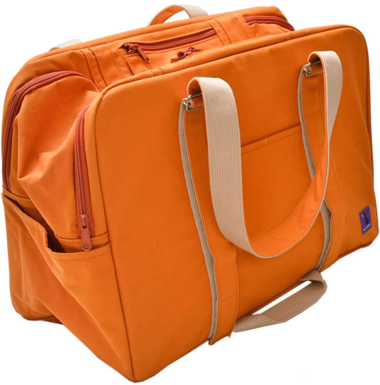 「キャリーバッグ」=警戒して一度も入らなかったバッグは2万円也。しかもバッグだけで結構重いんだよ。