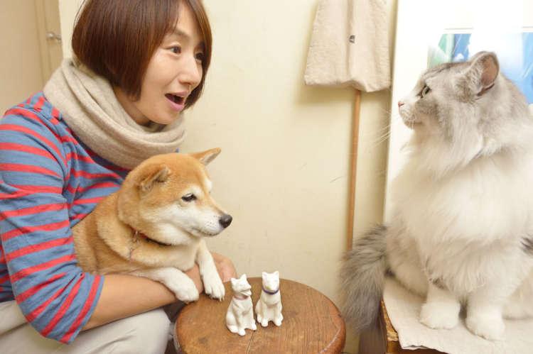 深く広く楽しめる犬オブジェ あなたの家の「番犬」にぜひ!