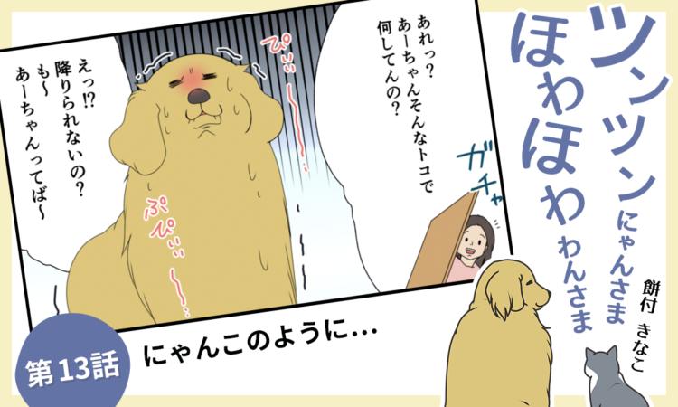 【まんが】第13話:【にゃんこのように…】まんが描き下ろし連載♪ツンツンにゃんさま ほわほわわんさま