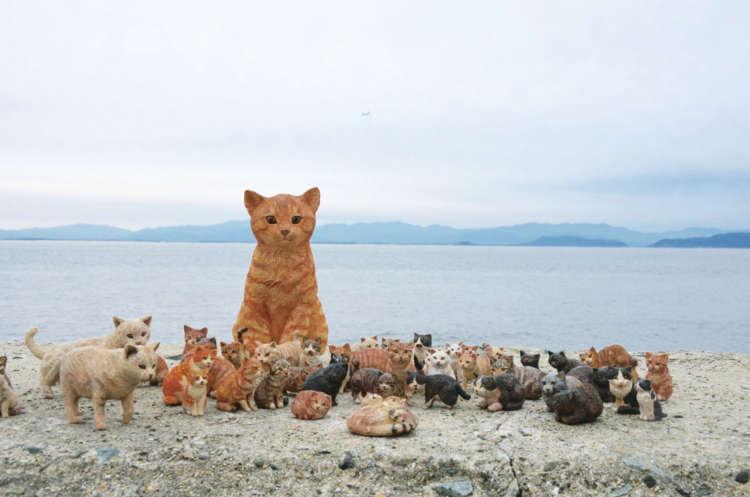 猫を彫らば空間まで