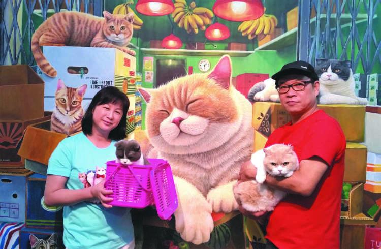 【猫びより】祝店長復帰! ショップ『クリームふぁみりぃ』オープン【from Hong Kong】