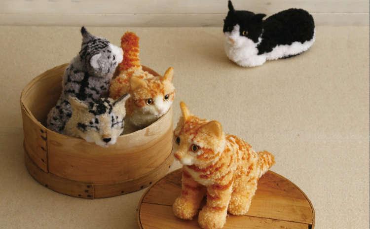 【猫びより】ボンボンでつくる スター猫の肖像―――①春馬(辰巳出版)