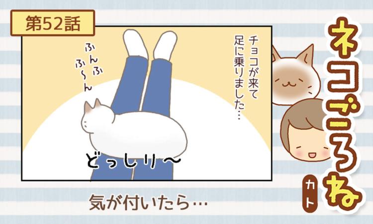 【まんが】第52話:【気が付いたら…】まんが描き下ろし連載♪ ネコごろね(著者:カト)