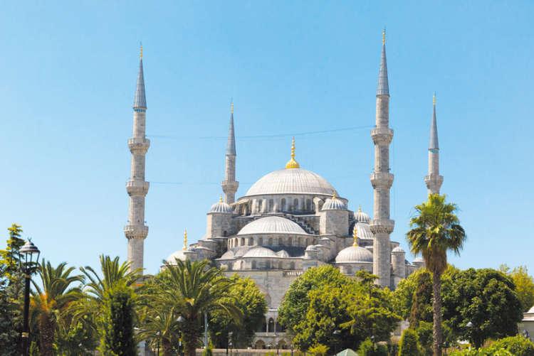 美しいブルーモスク