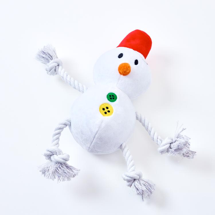 Fluffy Snow Man