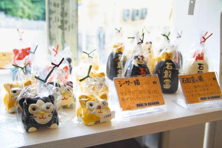 沖縄らしい漆喰のオリジナル商品はお土産に最適