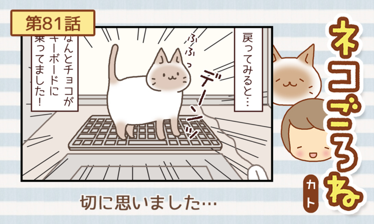 【まんが】第81話:【切に思いました…】描き下ろし連載♪ ネコごろね(著者:カト)
