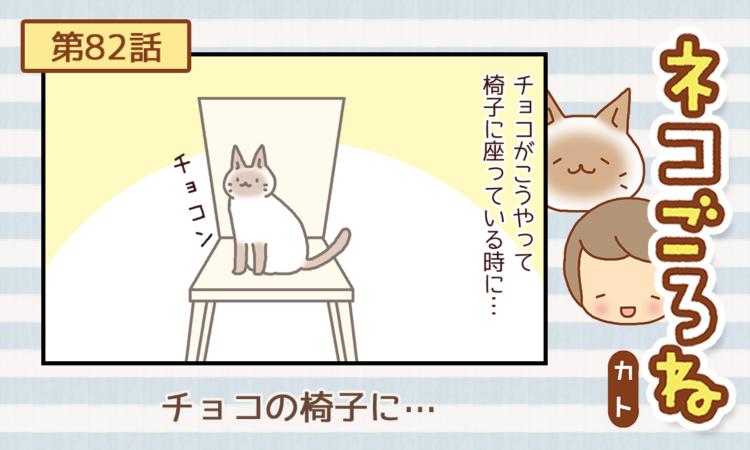 【まんが】第82話:【チョコの椅子に…】描き下ろし連載♪ ネコごろね(著者:カト)