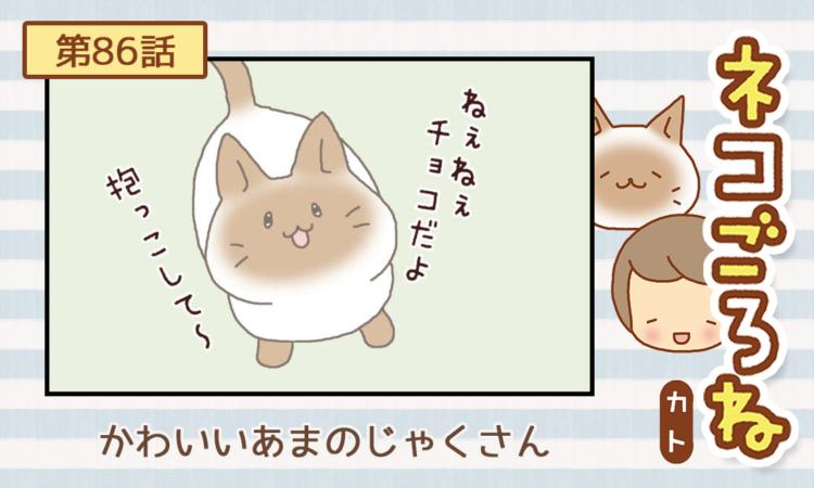【まんが】第86話:【かわいいあまのじゃくさん】描き下ろし連載♪ ネコごろね(著者:カト)