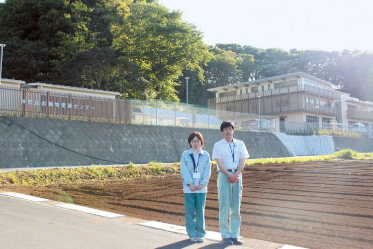 「新しくなった神奈川県動物愛護センターにぜひ見学にいらしてください」