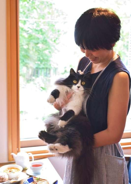 美和子さんとピノちゃん。なまら(とても)可愛い