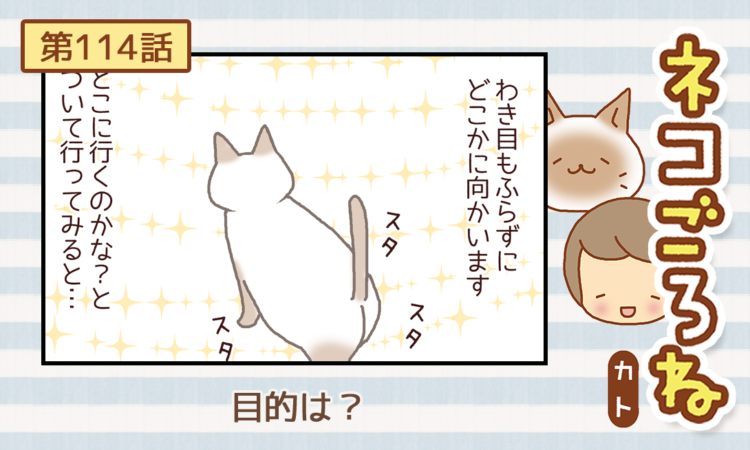 【まんが】第114話:【目的は?】まんが描き下ろし連載♪ ネコごろね(著者:カト)