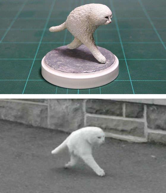 「ストリートビュー猫」