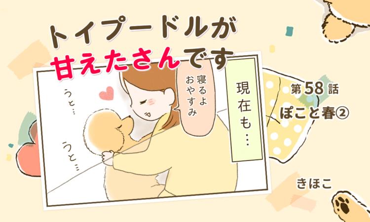 第58話:ぽこと春②