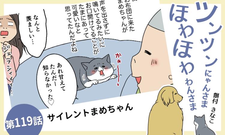 第119話:サイレントまめちゃん