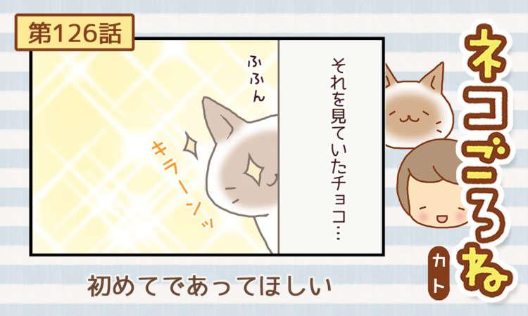 【まんが】第126話:【初めてであってほしい】まんが描き下ろし連載♪ ネコごろね(著者:カト)