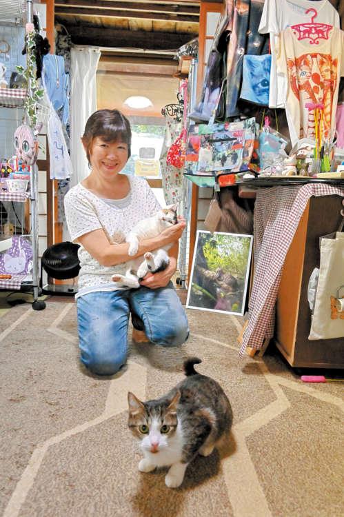 石垣島にある「にゃんこのしっぽ♪」オーナー栗原さん