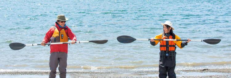 パドルの上手な漕ぎ方を知ろう