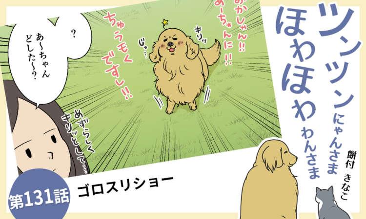 【まんが】第131話:【ゴロスリショー】まんが描き下ろし連載♪ ツンツンにゃんさま ほわほわわんさま