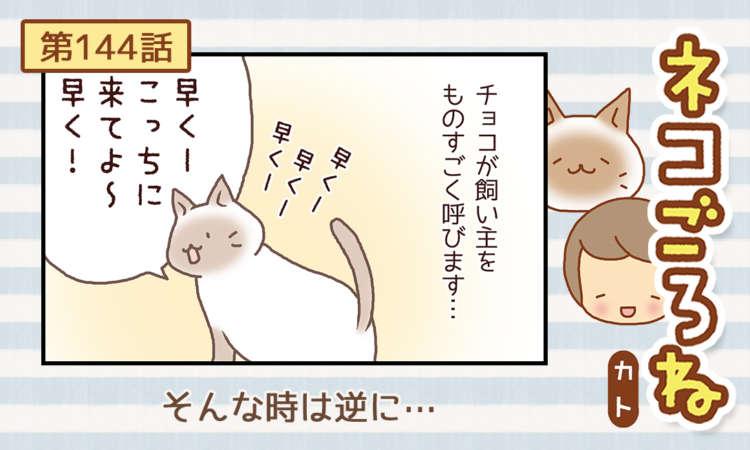 【まんが】第144話:【そんな時は逆に…】まんが描き下ろし連載♪ ネコごろね(著者:カト)