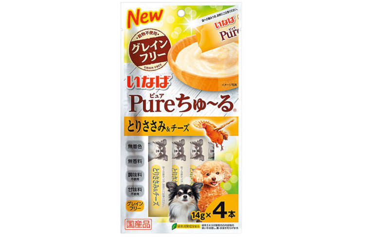 Pureちゅ〜る とりささみ&チーズ