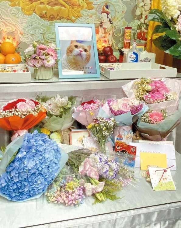 葬儀には、約200人のファンが献花やカード等を持って駆けつけ、最後のお別れに涙した