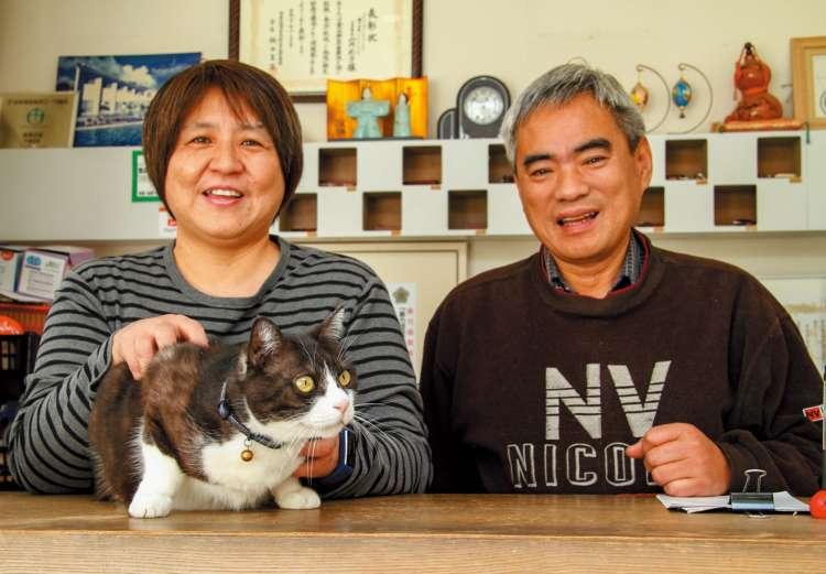 オーナーの鈴木浩之さんと久仁子さん