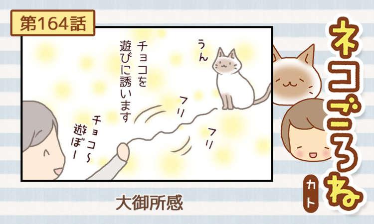 【まんが】第164話:【大御所感】まんが描き下ろし連載♪ ネコごろね(著者:カト)