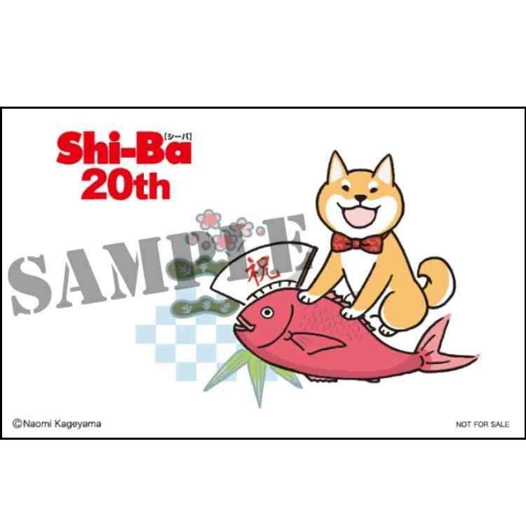 書店購入特典その① Shi-Ba20周年を記念した限定ポストカードプレゼント!